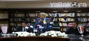 مؤتمر مرتضي منصور للإعلان عن قناة الزمالك