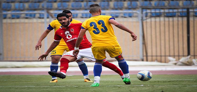 صالح جمعه وسط لاعب الإسماعيلية