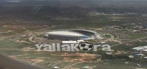 ملعب لاميتي المستضيف للقاء مصر وبوركينا فاسو