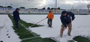 الثلوج تؤجل مباراة بيسكارا وفيورنتينا