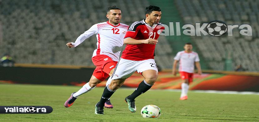 مرور تريزيجيه من لاعب تونس