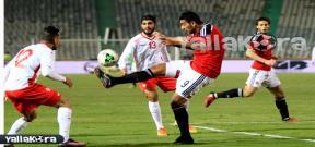 مباراة مصر وتونس الودية