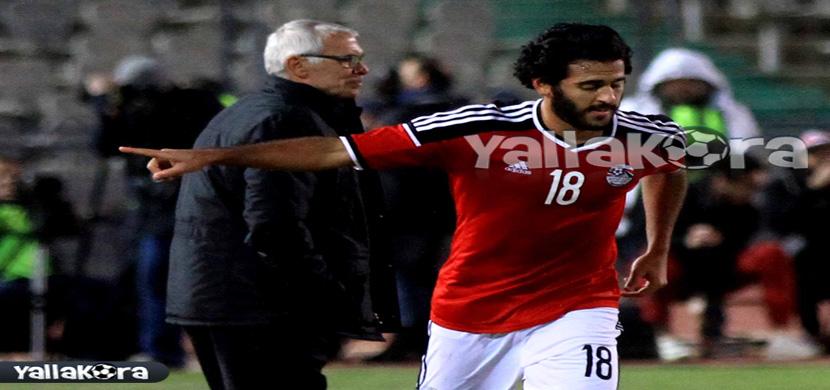 احتفال مروان محسن فى المباراة