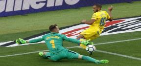 مباراة برشلونة ولاس بالماس