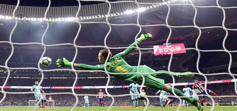 مباراة اتلتيكو مدريد وبرشلونة
