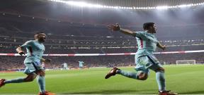 مباراة أتلتيكو مدريد وبرشلونة