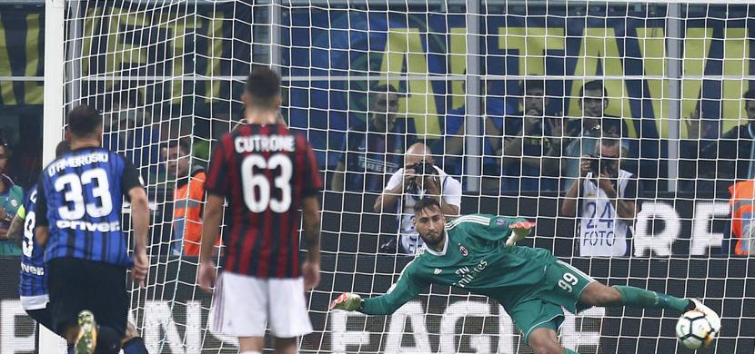 ايكاردي يسجل هدفه الثالث في ميلان