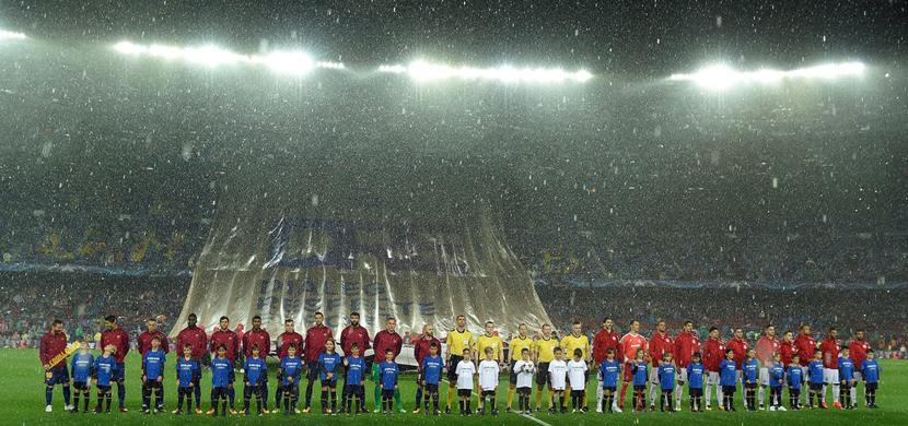 مباراة برشلونة وأوليمبياكوس