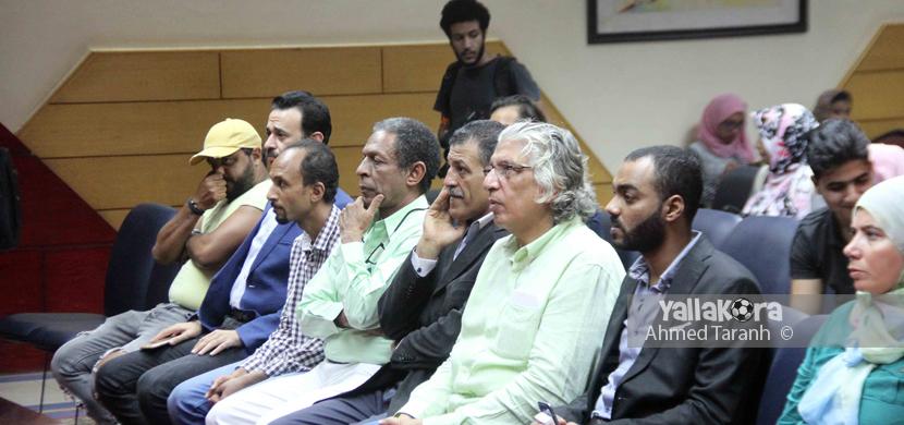 المصور الكبير حسام دياب ضمن الحاضرين