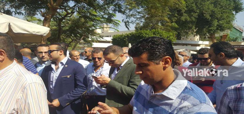 خالد مرتجي ومحمد الدماطي ومحمد الجارحي ومحمد سراج