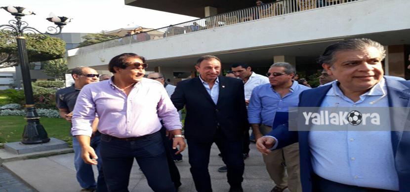 محمود الخطيب وخالد الدرندلي داخل الاهلي
