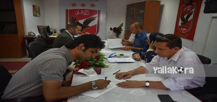 مهند مجدي يتقدم للترشح لإنتخابات الاهلي