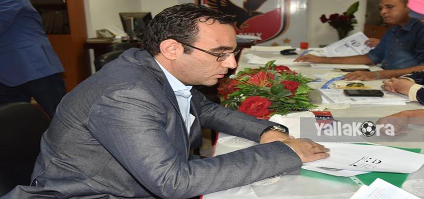 محمد الدماطي يترشح للإنتخابات ضمن قائمة الخطيب