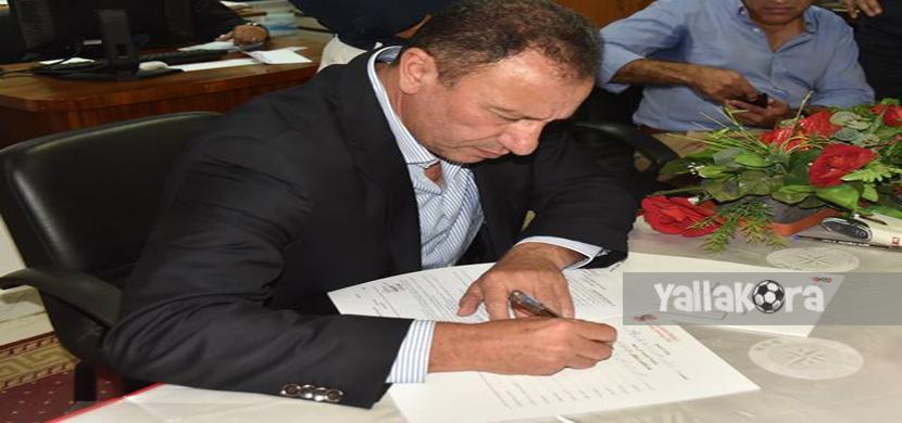 محمود الخطيب يتقدم باوراق ترشحه للإنتخابات