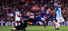 مباراة برشلونة ومالاجا