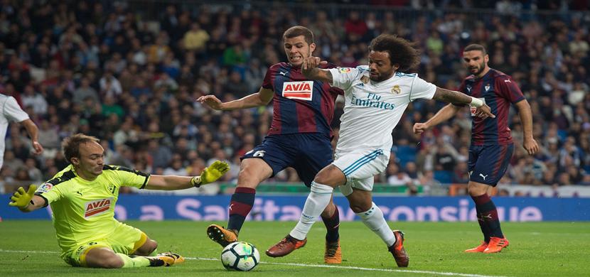 مباراة ريال مدريد وايبار