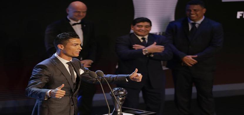 رونالدو أفضل لاعب فى عام 2017