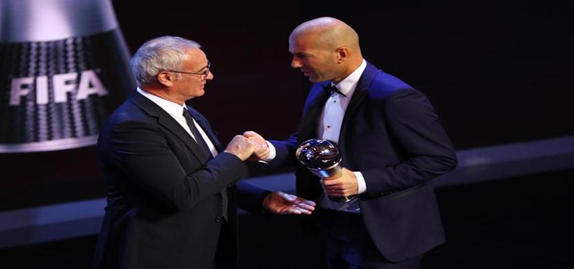 زيدان أفضل مدير فني فى عام 2017
