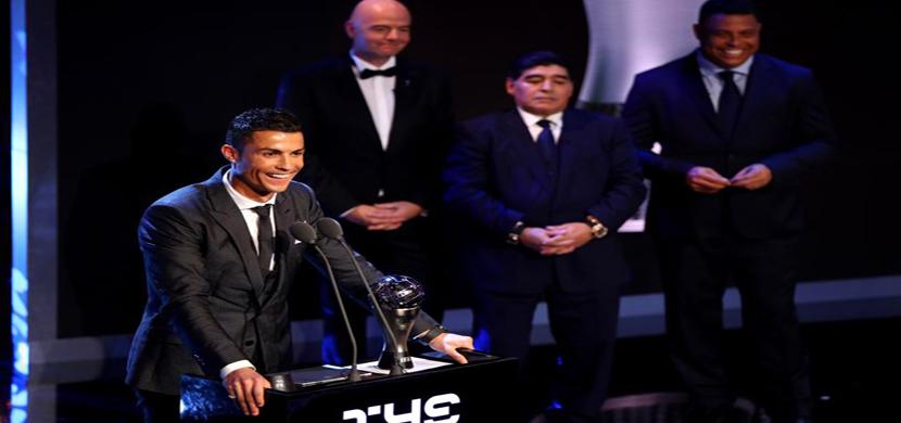 رونالدو أفضل لاعب فى العالم