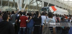 وصول بعثة الزمالك لكرة اليد مطار القاهرة