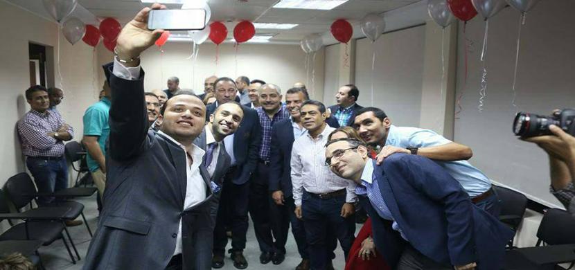 الإحتفال بعيد ميلاد محمود الخطيب