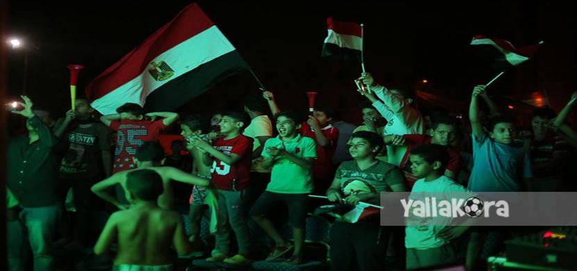 احتفال جماهير مصر في الوراق