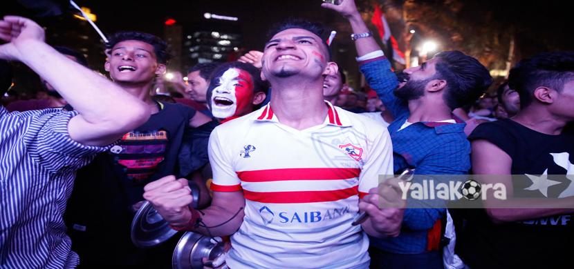 فرحة جماهير مصر بالمهندسين