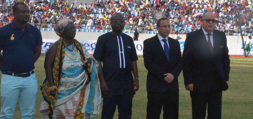مباراة غانا ومصر