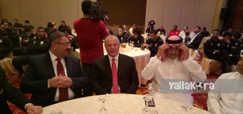 تكريم منتخب مصر في السعودية