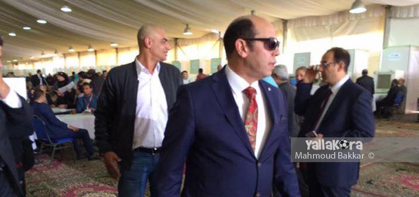 احمد سليمان داخل نادي الزمالك