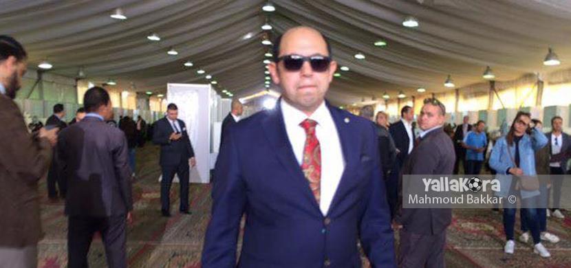 احمد سليمان داخل الزمالك