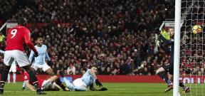 مباراة مانشستر يونايتد ومانشستر سيتي