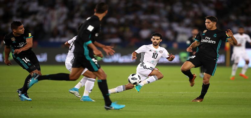 مباراة الجزيرة وريال مدريد