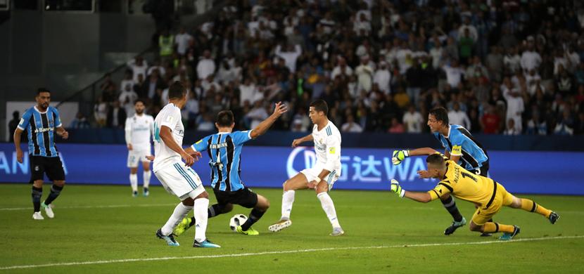 مباراة ريال مدريد وجريميو