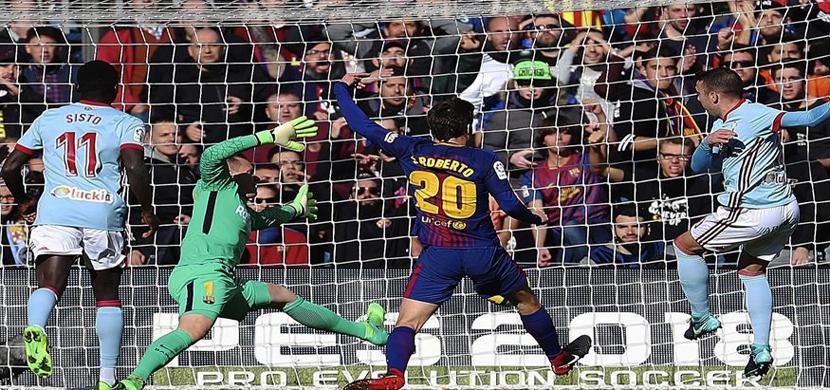 مباراة برشلونة وسيلتا فيجو