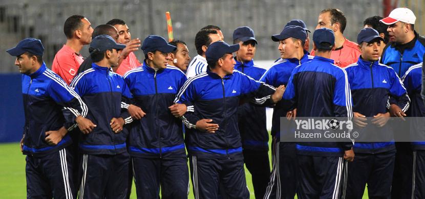 مشادات بعد خروج المصري من كأس مصر