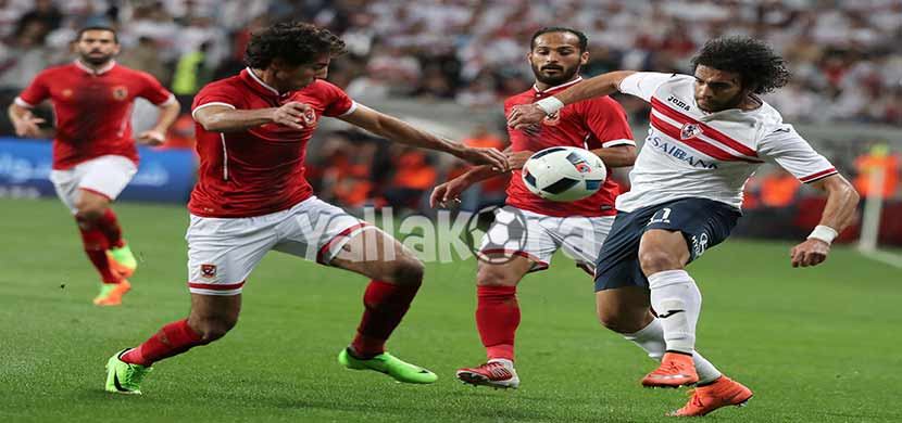 ناصف ومحمد هاني فى المباراة