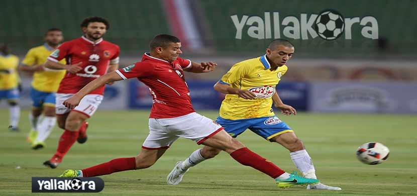 لقطة لسعد سمير فى المباراة