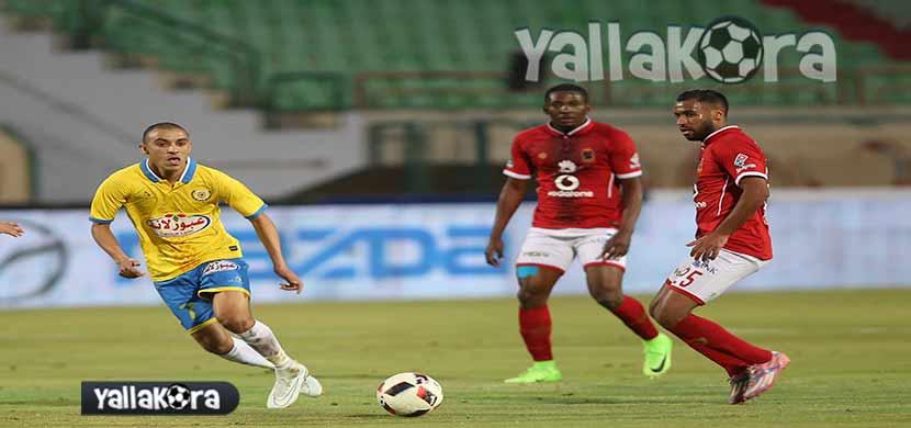 حسام عاشور فى مباراة الاسماعيلي والاهلي