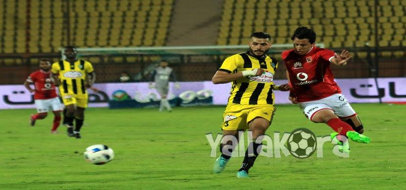 عمرو جمال فى المباراة
