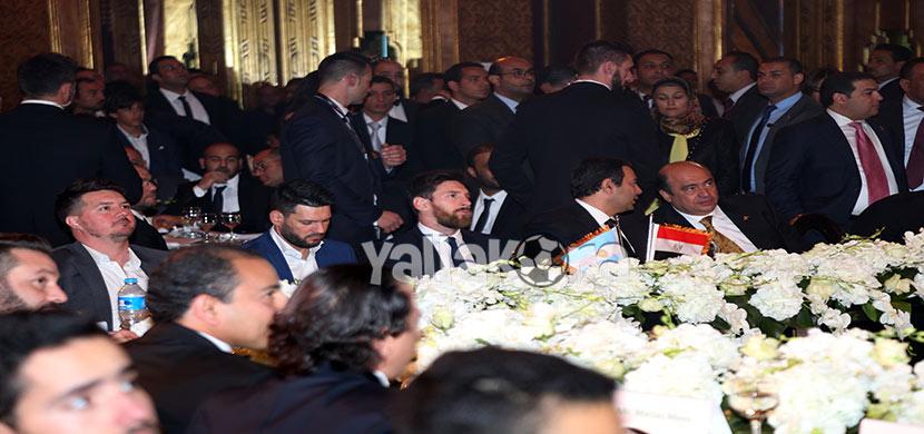 حفل ميسي للترويج عن السياحه العلاجية بمصر