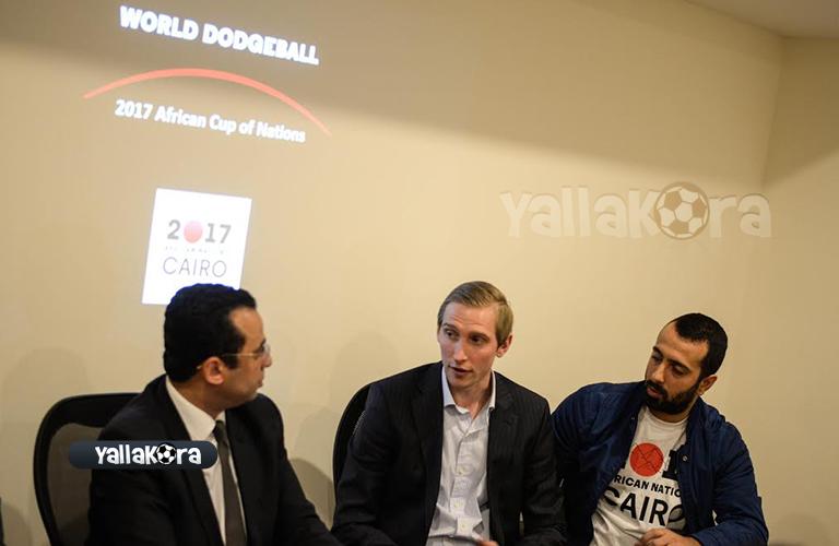 المؤتمر الصحفي للإتحاد الدولي للدودج بول