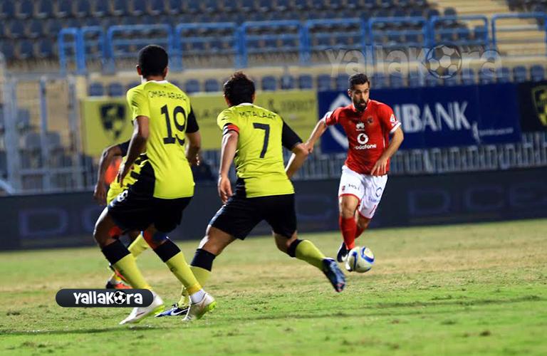 عبد الله السعيد امام لاعبي وادي دجلة