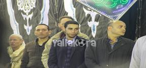 الخطيب وعلاء مبارك ابرز الحاضرين لعزاء والد تريكة