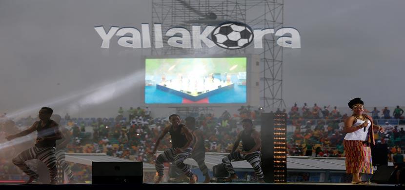 حفل ختام بطولة كأس الأمم الإفريقية