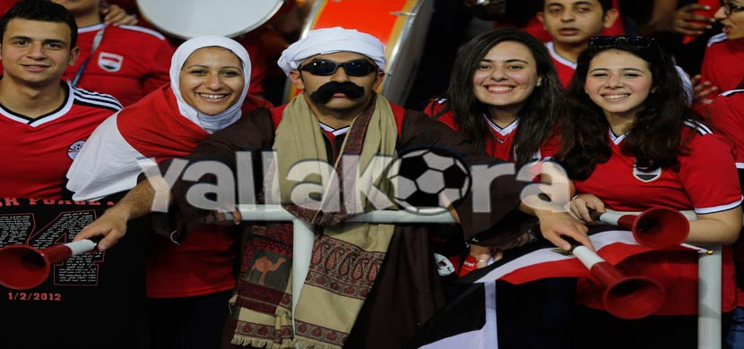الجماهير المصرية بمباراة الكاميرون