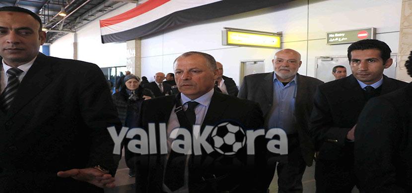 هانى ابو ريده رئيس الاتحاد المصري لكرة القدم