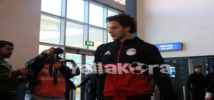 رمضان صبحى لاعب منتخب مصر