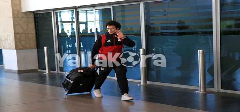 وصول عمر جابر لمطار القاهرة