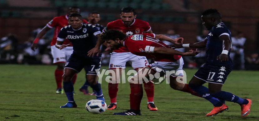 حسام غالي فى المباراة